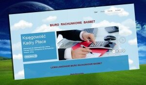 strona internetowa biura rachunkowego w Mikołowie